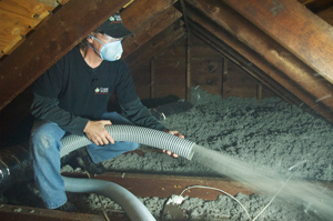 Attic Insulation installed in Kimberly
