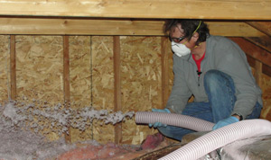 Fiberglass insulation installed Northeast Wisconsin